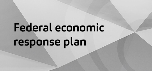 Federal government COVID-19 economic response plan